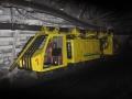 Движение шахтной локомотивы LZH